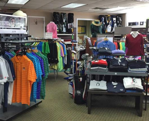 The golf shop at The Links at Union Vale